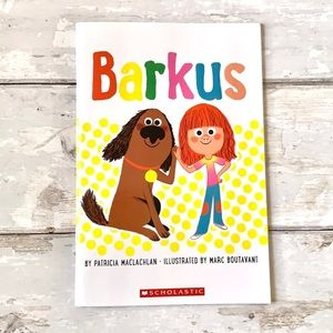 Barkus by Patricia Maclachlan Children's Book NEW